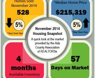 WHAT DID THE RE MARKET DO IN NOVEMBER 2014?