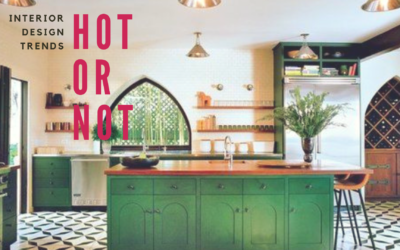 Hot or Not – Green Cabinetry
