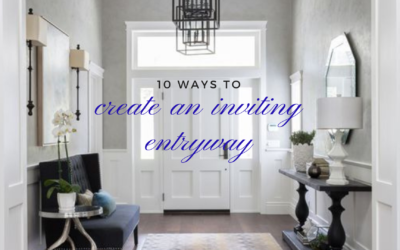 10 Ways to Create an Inviting Entryway