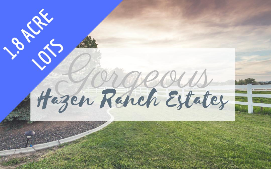 Bring Your Horses to Hazen Ranch!