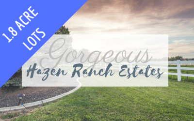 Bring Your Horses to Hazen Ranch!